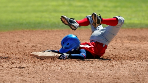 Kid Baseball Slide